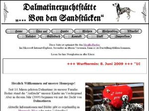 Unsere Dalmatiner-Homepage
