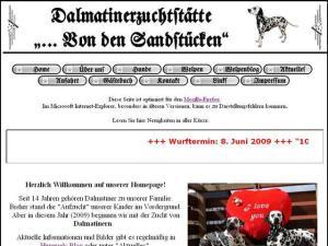 Unsere Dalmatiner-Homepage